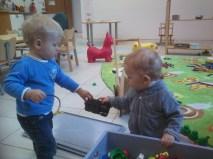Spielzeug tauschen mit Mathis