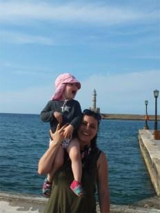 Chania Leuchtturm / Lighthouse (wo das Sandmännchen wohnt)