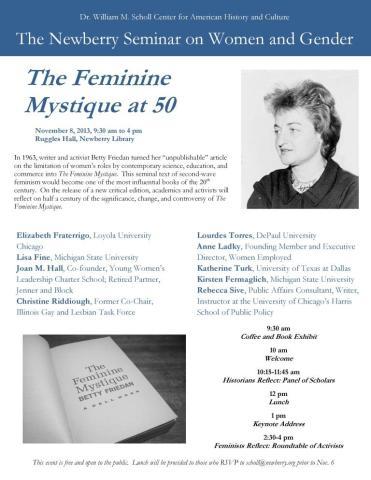 Feminine MystiqueSymposiumSlide