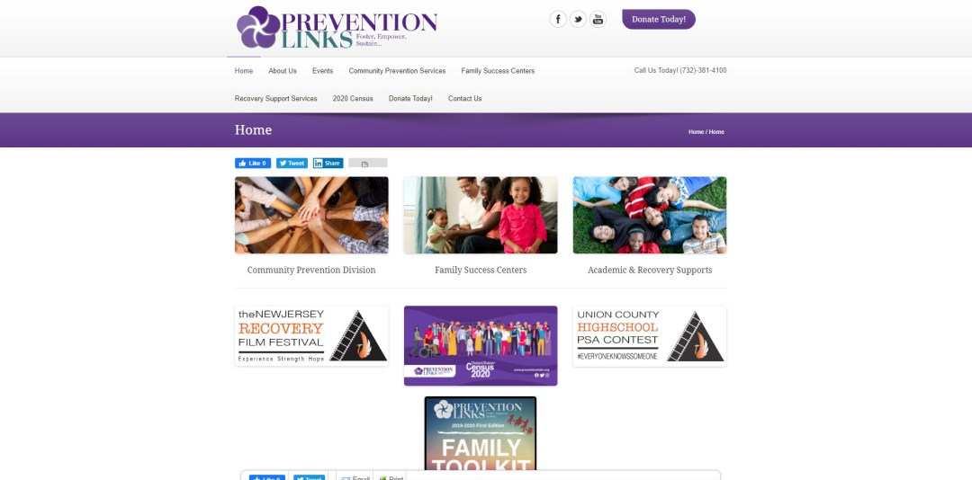 Old Prevention Links Site