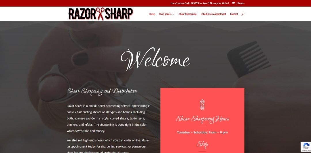 Razor Sharp Website