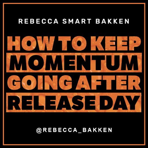 How to keep momentum going after music release by musicians
