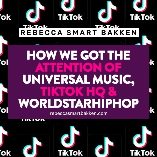 How we got the attention of Universal Music, TikTok HQ & Worldstarhiphop with a TikTok trend