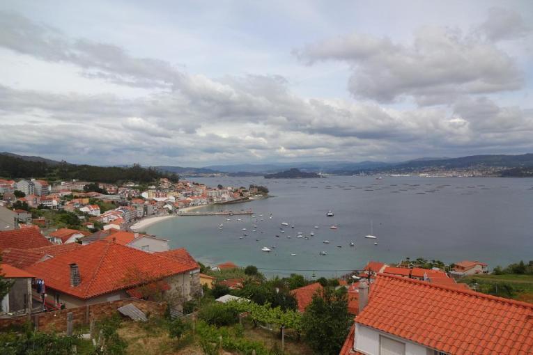 View over the Ria de Pontevedra