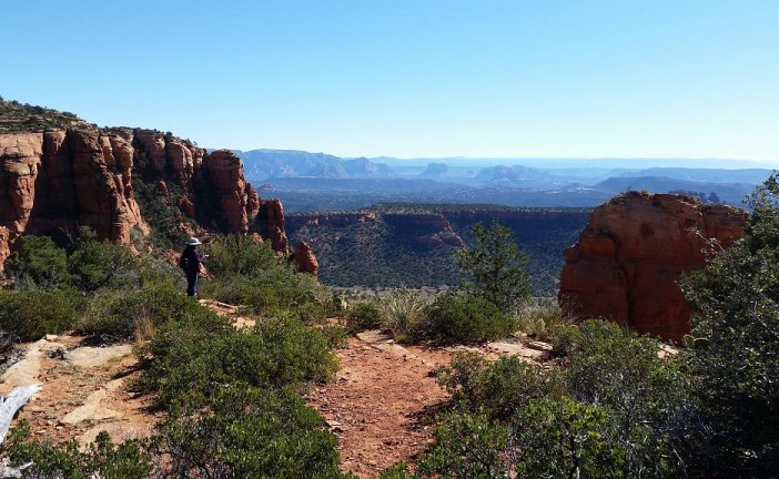 Hiking in Sedona in November