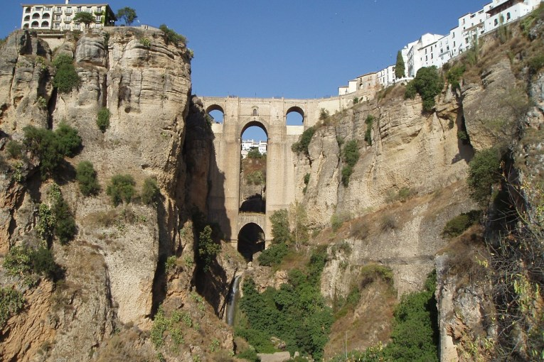 The Andalusian White Hill town of Ronda