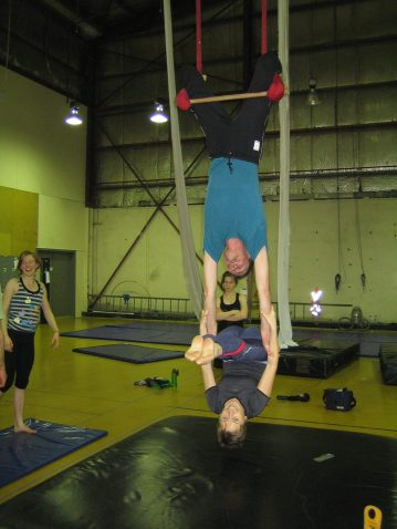 Circus class with Neil