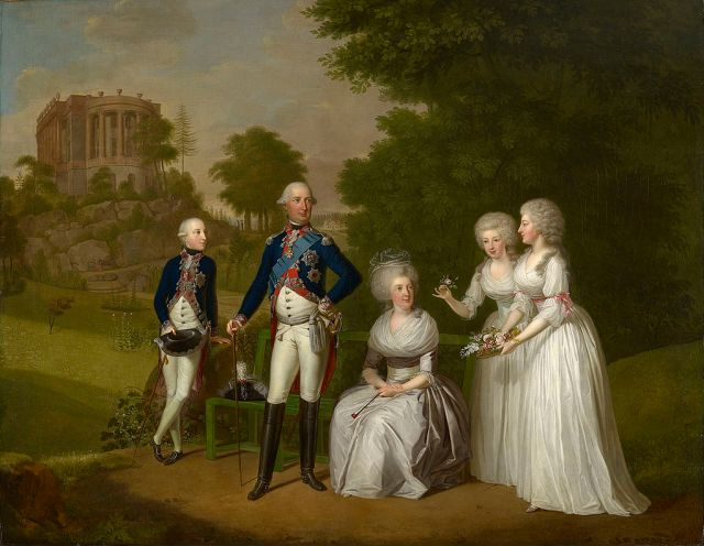 The_family_of_william_i_elector_of_hesse