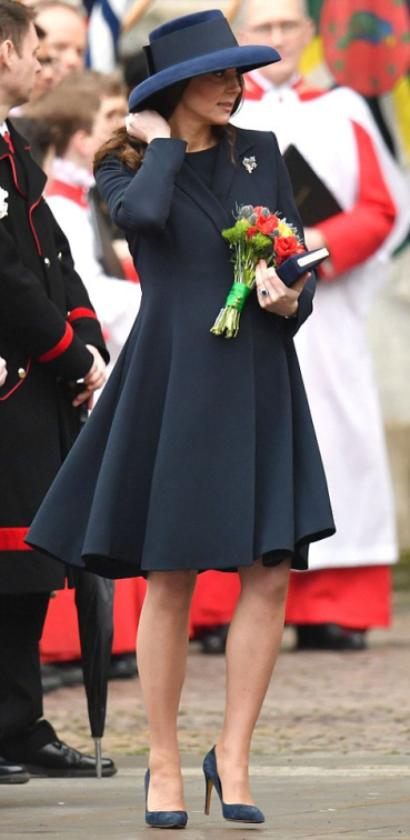 Navy Beulah Coat Dress