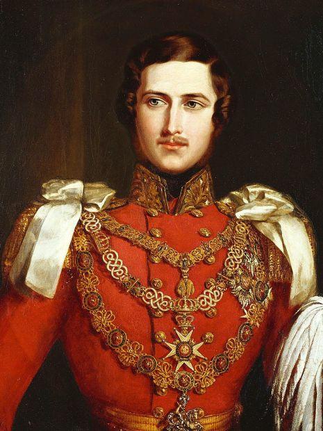 albert in 1840