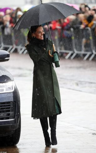 Green Sportsmax Coat