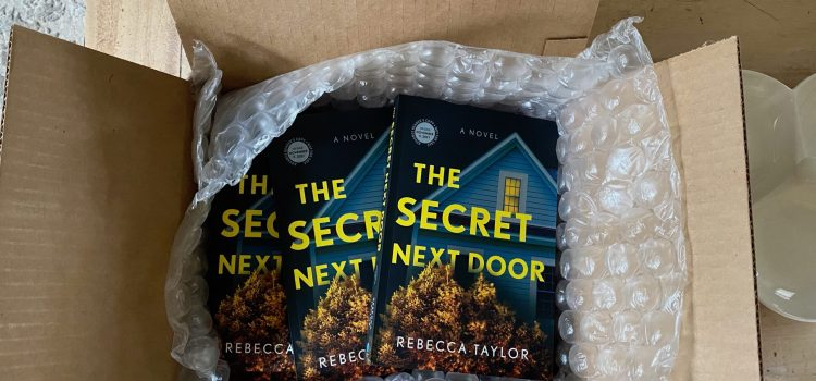 They're Here! Advance Reading Copies of The Secret Next Door