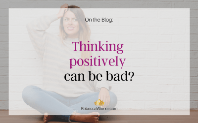 Thinking positively can be bad?