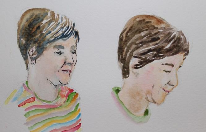 Jackie watercolour