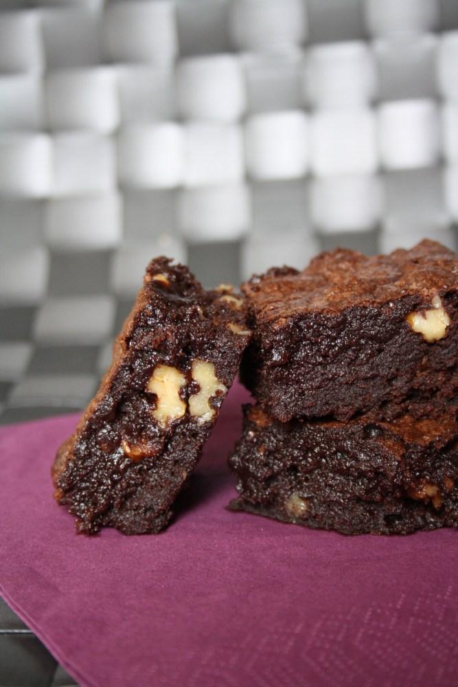 Kladdiga Brownies