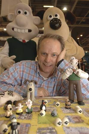 Nick Park and his Wallace & Gromit