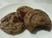 """South & Vine Public House's World Famous Chocolate """"Chip"""" Cookies: Dead sexy. Desire on a plate, that is all."""