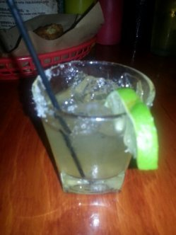 A sample of the famous Hawg-a-Rita.