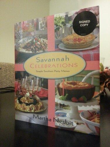 One of Martha's cookbooks: Savannah Celebrations.