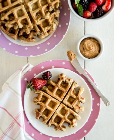 Peanut Butter Waffles - Contributed Photo