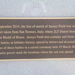 Inouye Field is where the graduation was held.