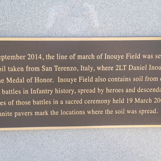 Inouye Field is where the graduation was held.