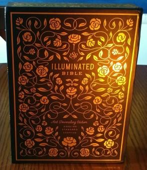 ESV Illuminated Bible slipcase