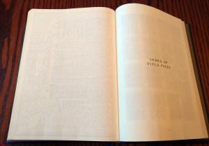 ESV Illuminated Bible Title Page Index