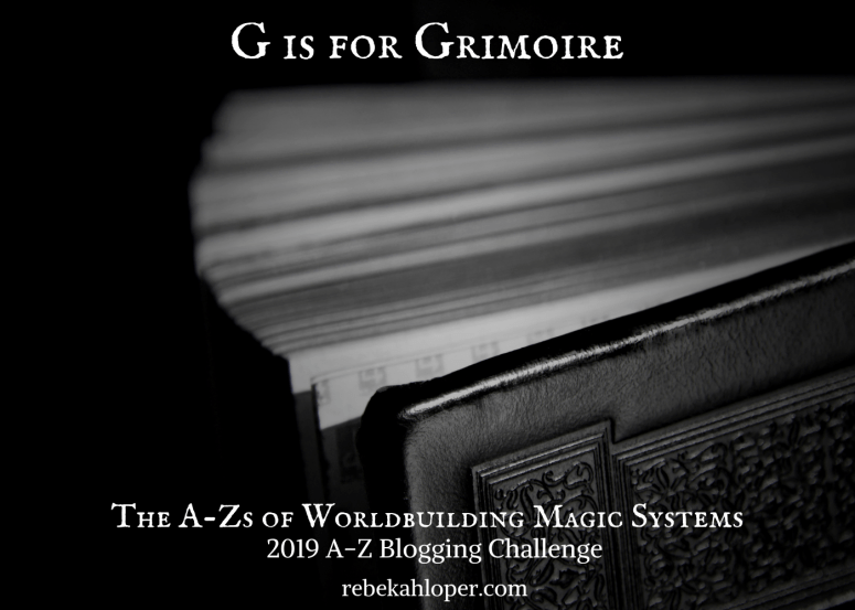G is for Grimoire
