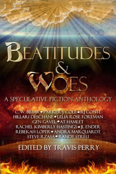 Cover of Beatitudes and Woes Speculative Fiction Anthology
