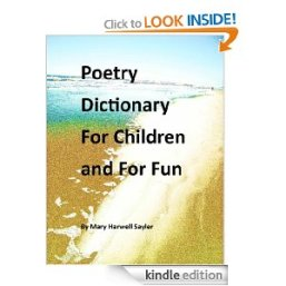 Poetry Dictionary For Children and For Fun