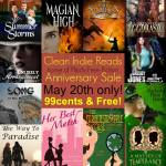 Happy FIrst Anniversary Clean Indie Reads