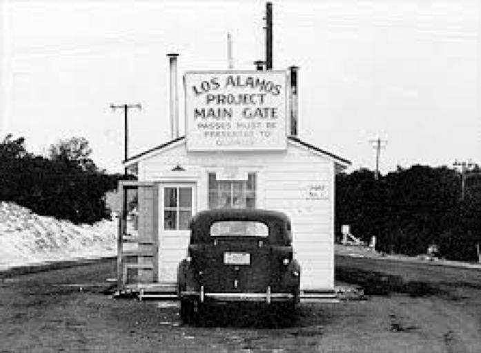 Los Alamos Gate