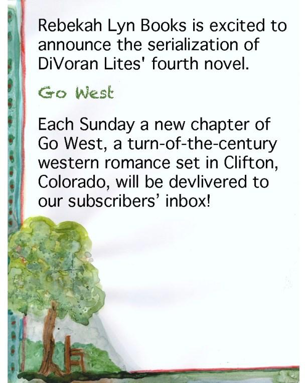 Announcing Go West again