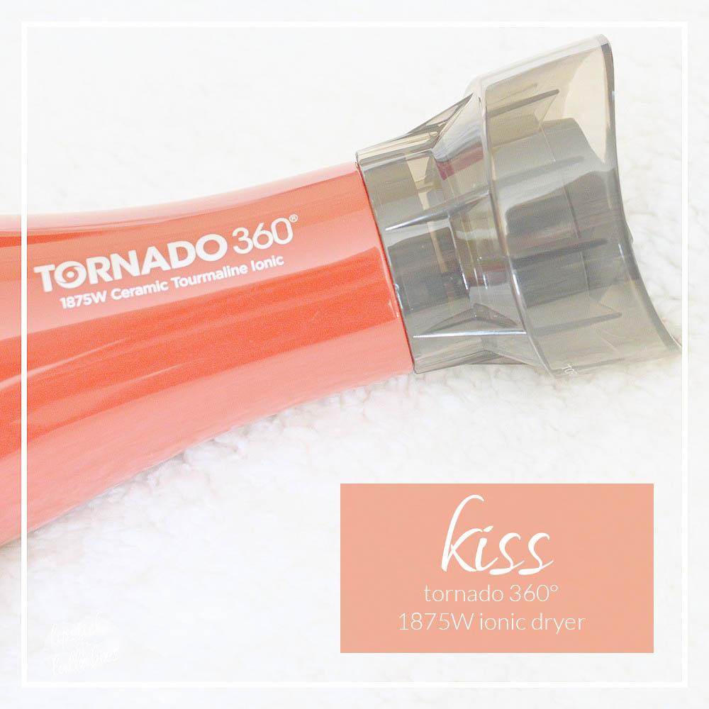 kiss tornado 360°- 1875W ionic dryer giveaway