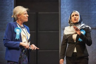 Multitudes asks probing questions about what it means to be British - especially for British Muslims. Set in the run up to the Conservative Party Conference, in Bradford, where peace protests are ongoing and debate surrounding immigration policy is rife.