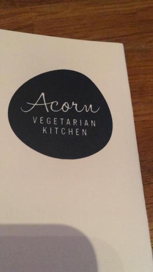 Acorn menu