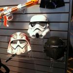 Ezra, Stormtrooper & Kallus masks