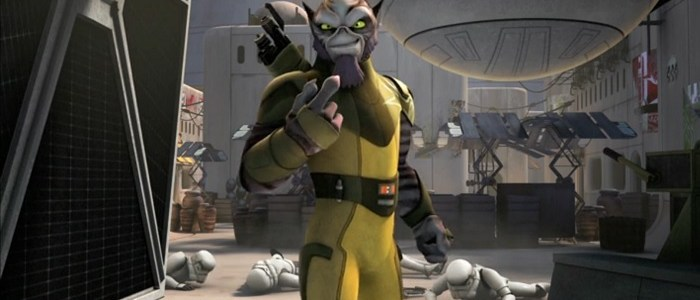 Preview For The Next Star Wars Rebels Short Featuring Zeb