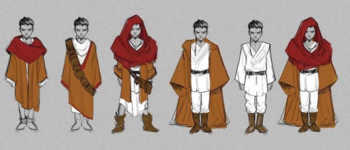 First Look At A Young Kanan From The Last Padawan Comic