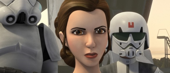 Princess Leia To Appear On The Next Episode Of Star Wars Rebels!