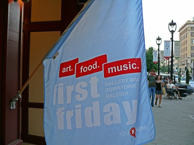 15 things to do in Raleigh First Friday