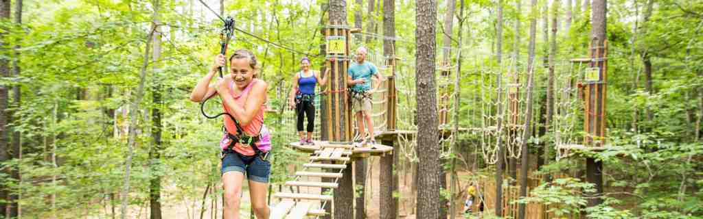15 things to do in Raleigh Go Ape