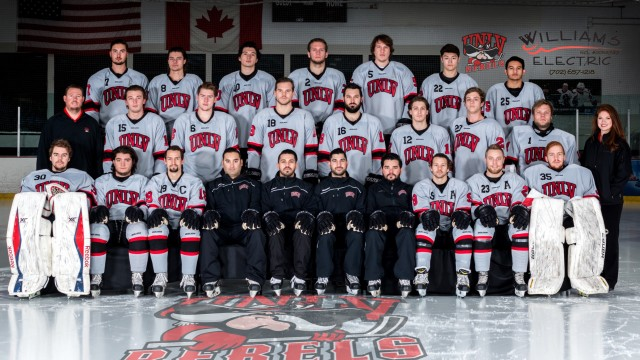 Image result for UNLV Rebels hockey team photo 2017