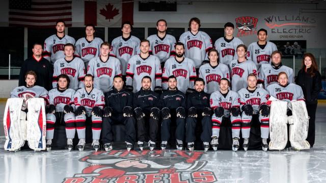 Image result for UNLV Rebels hockey team photo 2017