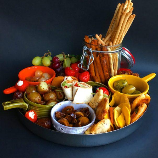 borrelplank - vegan catering op maat