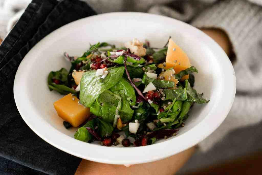 gesunder herbstsalat