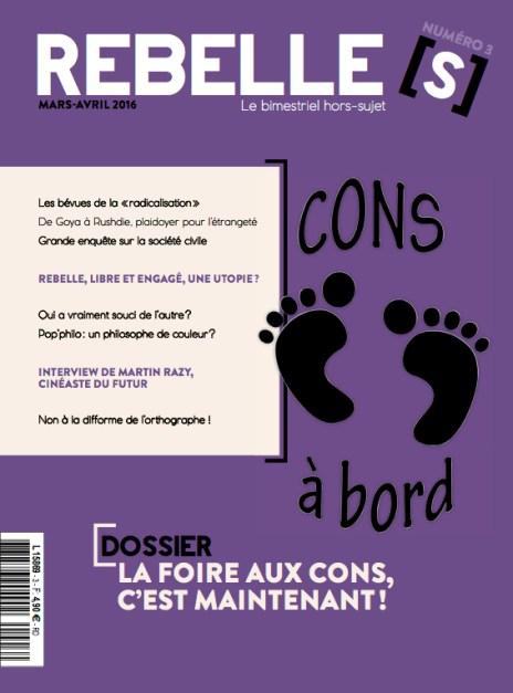 Couverture de Rebelles(s) Magazine n°3