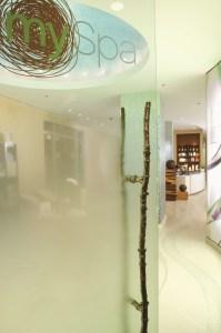 mySpa reception area