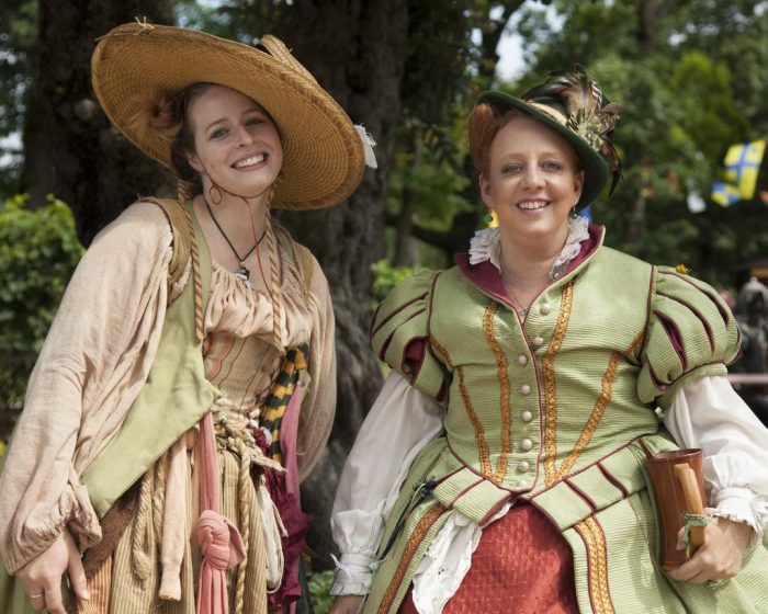 Kat Brown and Heather Last of the Bristol Renaissance Faire